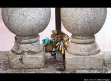 Love Lock Rialto Venice