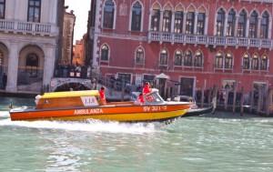 Ambulanza Venezia, Ambulance in Venice