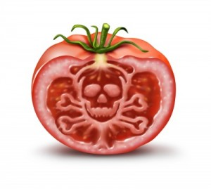 Food poisoning tomato